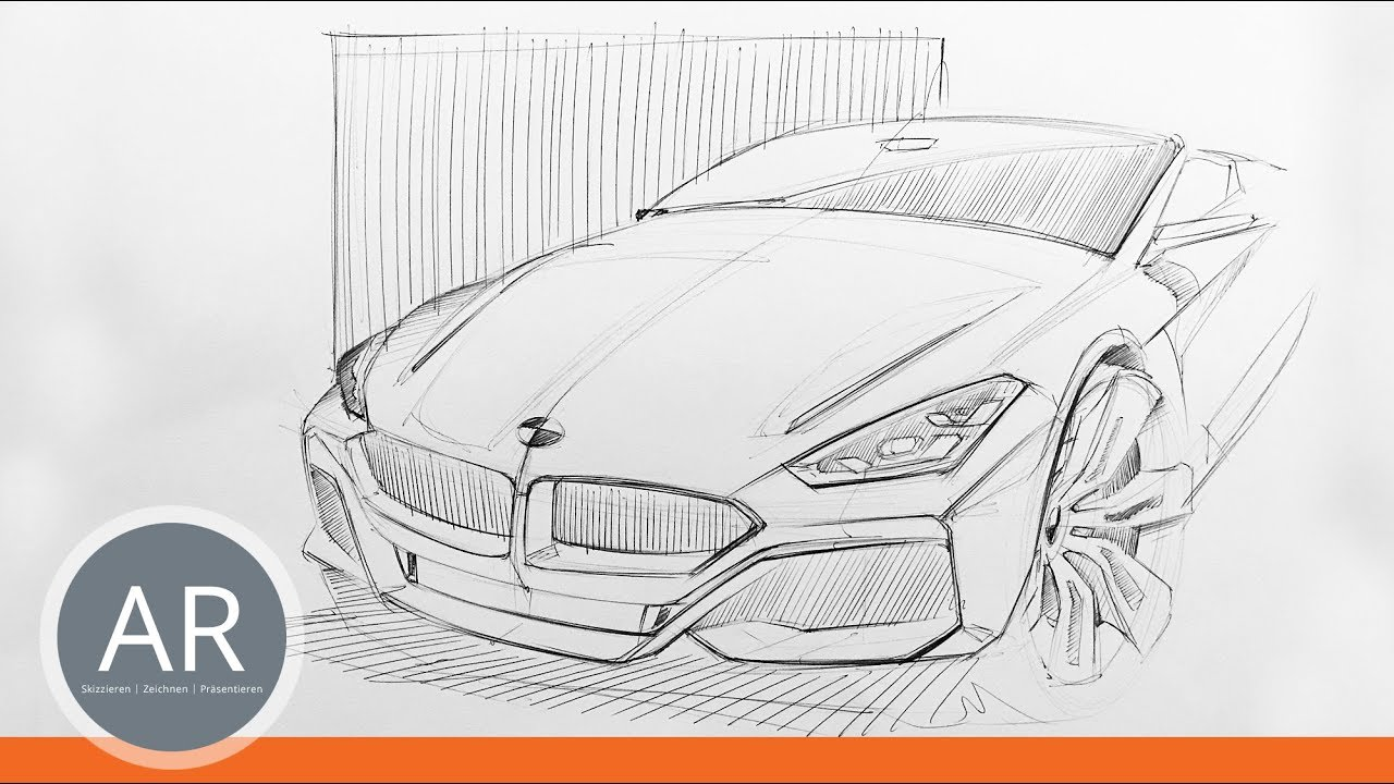 Transportation Design Skizzen Autos Perspektivisch Zeichnen Lernen Mappenkurs Transportationdesign
