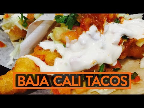 BEST FISH TACOS EVER?! - Fung Bros Food