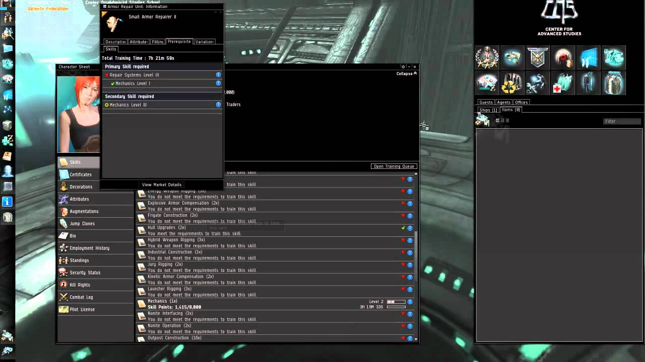 Fucktard's Guide to Eve Online: Skills