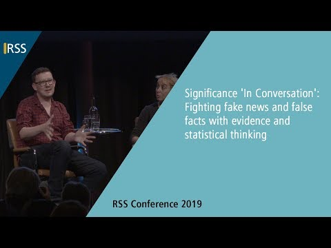 Keynote: Significance 'In Conversation': Fighting fake news and false facts