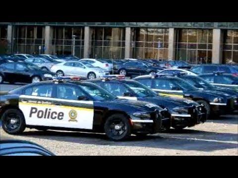 2017 QUEBEC PROVINCIAL POLICE CARS & OLD MODELS AT HQ