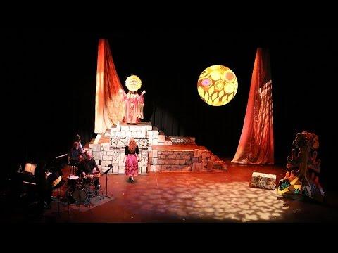 Bear Prince - jazz-opera clips from 2015 production