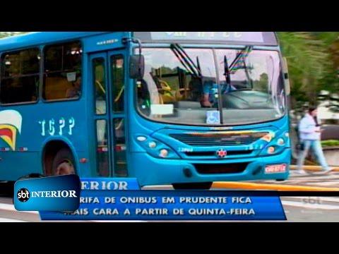 Tarifa do transporte público de Presidente Prudente terá aumento
