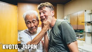 💈 Traditional Japanese Wet Shave by Cool 75 Year Old Kyot...