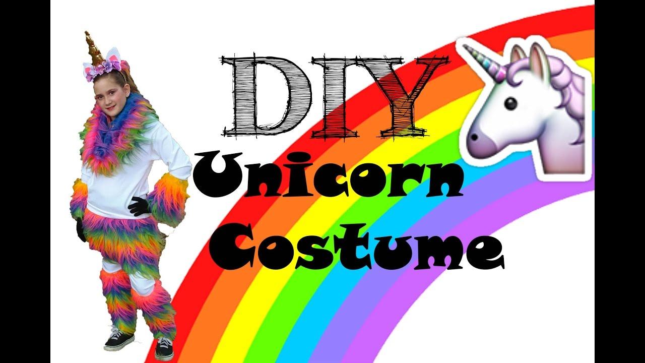 Diy unicorn costume youtube diy unicorn costume solutioingenieria Choice Image