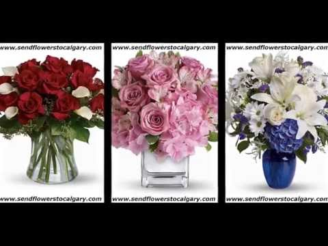 Send Flowers from USA to Calgary, Alberta, Canada