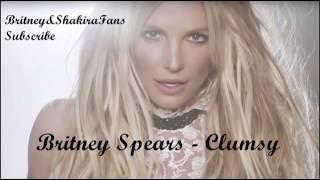 Britney Spears - Clumsy (Lyric Video)