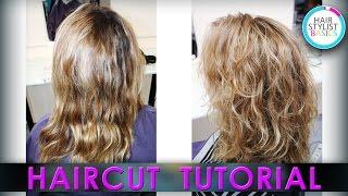 Highlighting roots of hair (Мелирование отросших корней)