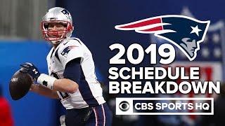 """The Patriots will go 14-2, bare minimum"" - Pete Prisco   NFL Schedule Release"