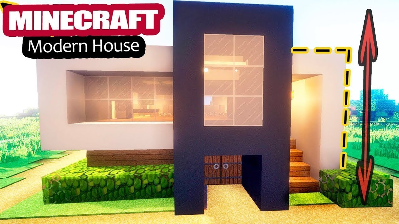Just STARTER HOUSE EASY in Minecraft Tutorial