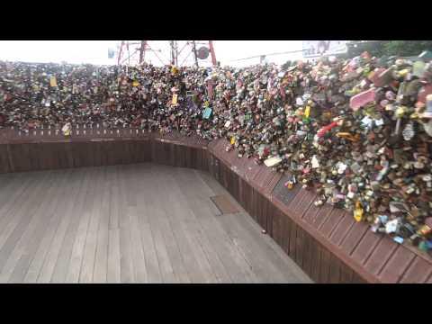 N Seoul Tower, tour of the love locks