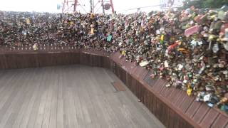 N Seoul Tower, tour of the love locks