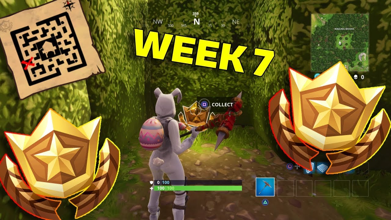 Fortnite Treasure Map Location Retail Row Guide Week 7 Challenge