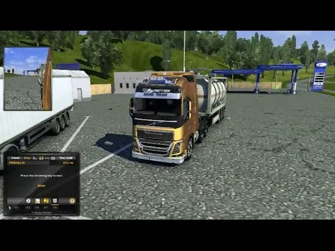 Euro Truck Simulator 2 Fuel Tanker delivered from Wroclaw to Djon