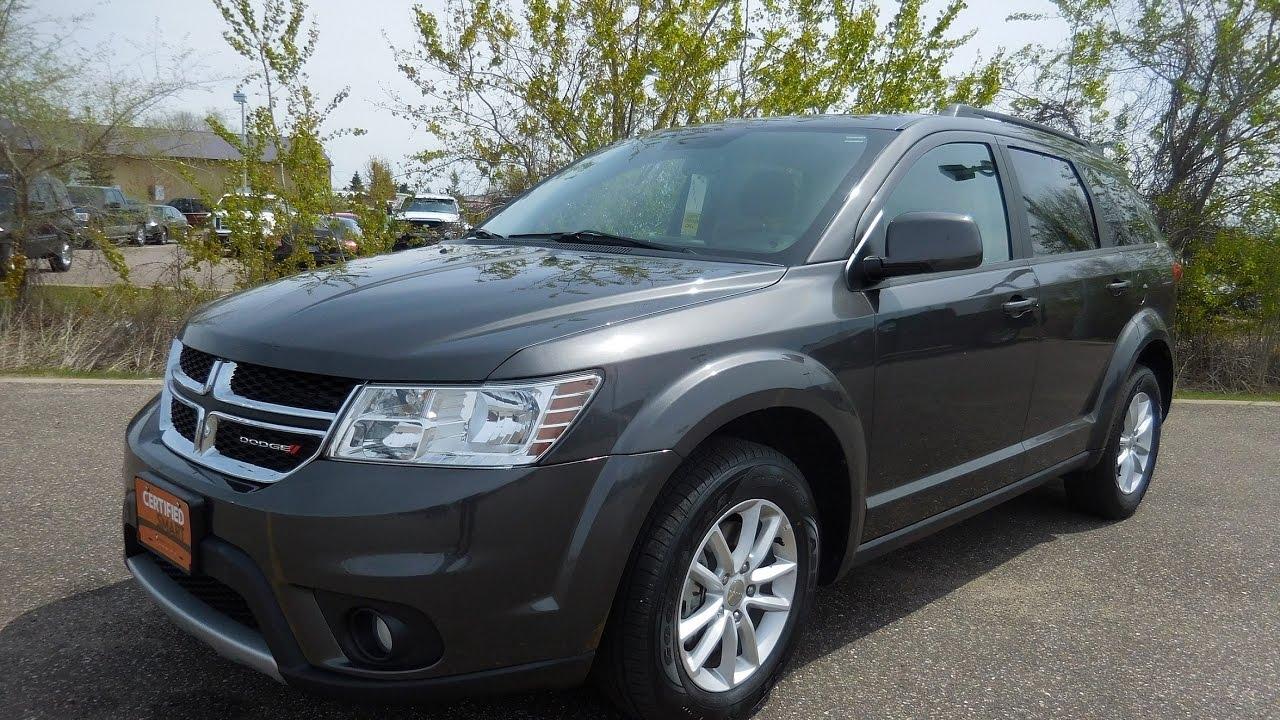 Used 2016 Dodge Journey Sxt 3 6l V6 Awd Elk River Monticello Lake Becker St Cloud Mn