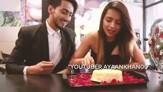 Kachi thi aas ki dori ek pal mai tut gayi hai    Faisu and  Bhavisha featuring edited by ayaankhan