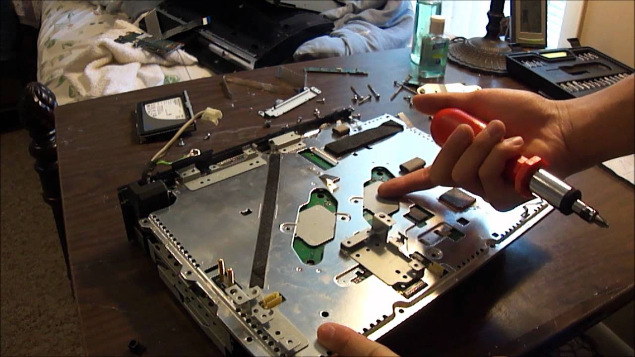 PlayStation 3 Disassembly (Original 60 GB PS3)  YouTube