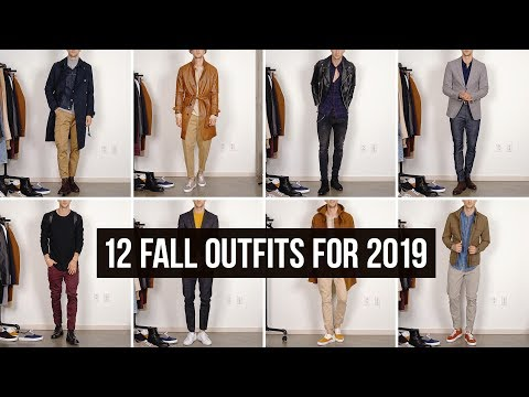 12 Stylish Fall Autumn Looks for 2019 | Men's Fashion | Outfit Ideas