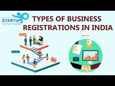 Types of business Registrations in India - StartupYo