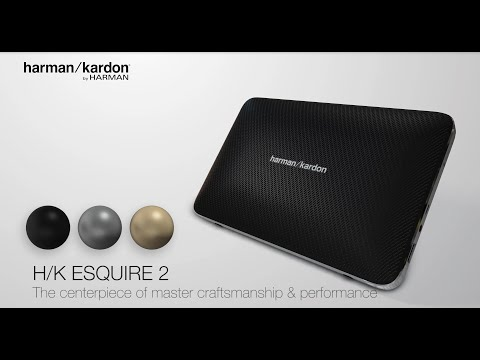 Harman Kardon Esquire 2: The centerpiece of master craftsmanship and performance