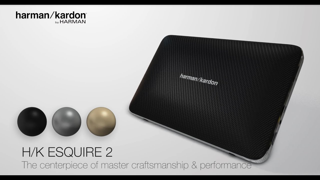 harman kardon esquire 2 the centerpiece of master. Black Bedroom Furniture Sets. Home Design Ideas