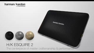 Harman Kardon Esquire 2: The centerpiece of master craftsmanship and performance