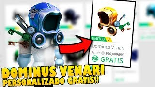 HOW TO HAVE THE DOMINUS VENARI CUSTOMIZED 100% FREE in ROBLOX !!