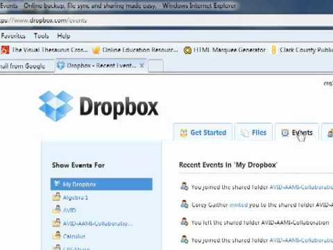 Dropbox Instructions4 Youtube