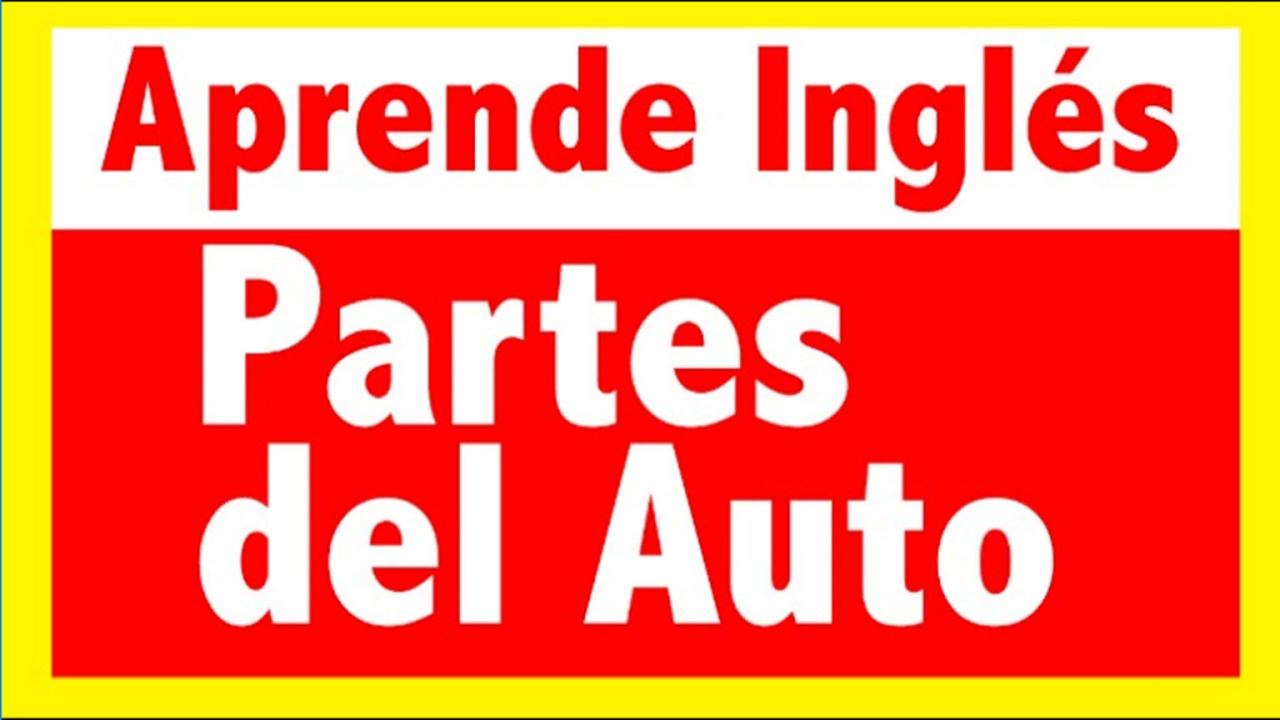 Partes del auto en ingl s parts of the car youtube for Partes de un vivero forestal
