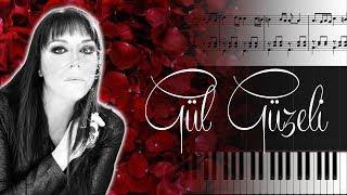 Gül Güzeli [Piyano]+[Nota]+[Karaoke]