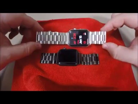 Apple Watch Mkeke Stainless Steel Bands