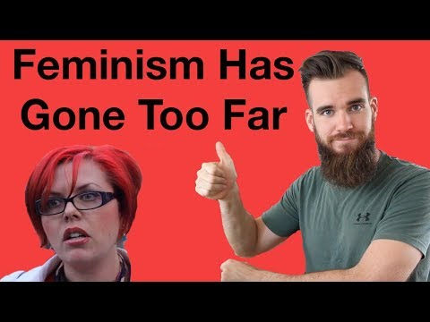 Feminism Has Gone Too Far (Painting With Period Blood)