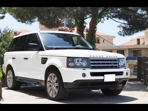 Review: 2009 Range Rover Sport Supercharged Full Interior Tour, Quick Walkaround, Quick Drive