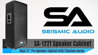 Seismic Audio SA-122T Speaker Cabinet (Official)