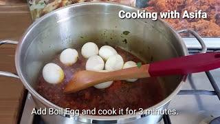 Spicy Egg biryani | homemade restaurant-style tasty egg dum biryani recipe-