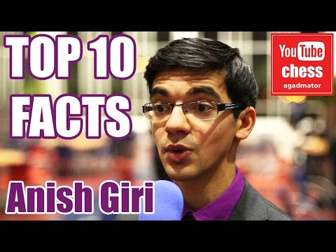 Top 10 facts about Anish Giri