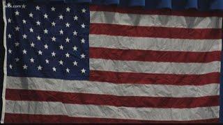 Kids honor military members on Veterans day
