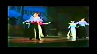 "Japanese musical stars ,Ran Ohtori and Jun Anna, are dancing ""Dark ..."