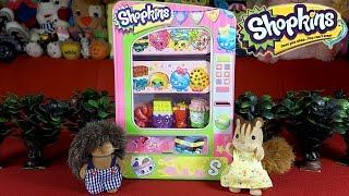 Торговый автомат Шопкинс обзор + мультик из игрушек. Shopkins Vending Machine(Всем привет) В своих выпусках я успела Вам показать магазин Шопкинс, Пекарню, Овощную лавку и даже огромную..., 2015-09-19T01:29:03.000Z)