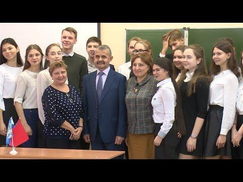 5 вопросов депутату задали старшеклассники школы №4 имени Климука Щёлковского городского округа