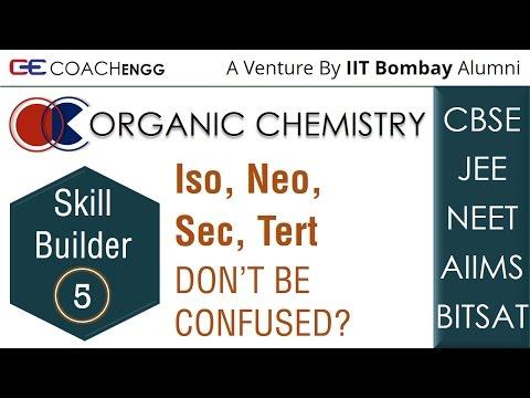 Sec, Tert, Iso, Neo - Nomenclature Branched Substituents - JEE | NEET | CBSE