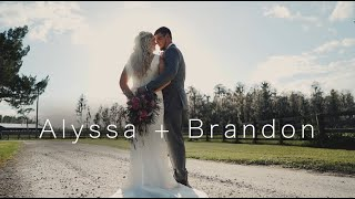 Alyssa + Brandon | Polk County Wedding Film