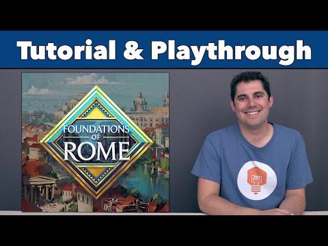 Foundations of Rome Tutorial & Playthrough - JonGetsGames