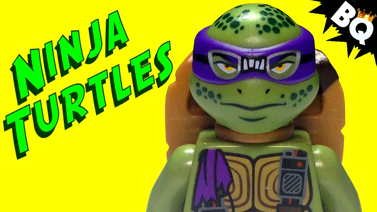 LEGO Ninja Turtles Donatello TMNT Minifigure Comparison ...