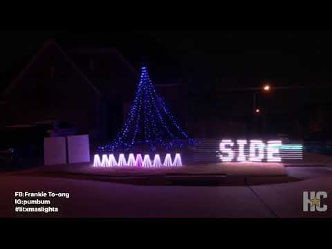 Spring homeowner pays homage to Houston music scene in holiday light display