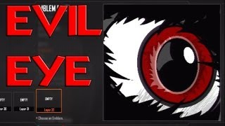 Black Ops 3 Evil Eye Emblem Tutorial EASY - Black Ops 2 -