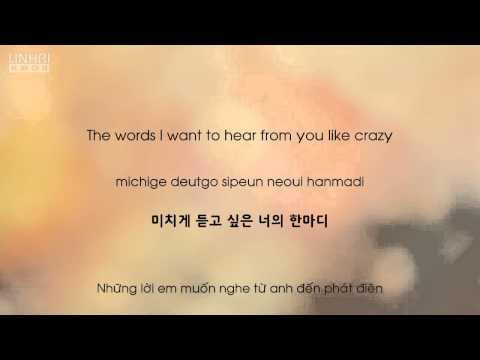 Missing You Like Crazy (미치게 보고싶은) - Taeyeon (태연) - [Eng.| Rom.| Han.| Viet]