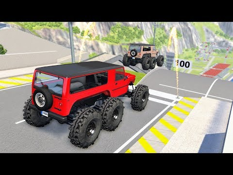 Epic High Speed Jumps #24 – BeamNG Drive