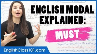 How to Use the Modal MUST - Learn English Grammar