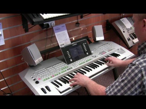 Yamaha Tyros 2 Demo Organ Samba